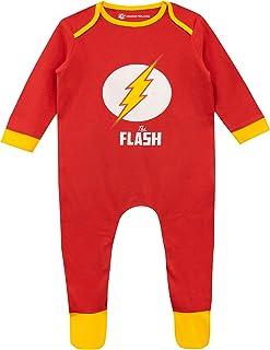 dc comics Baby Jungen The Flash Schlafstrampler