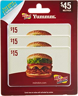 Red Robin Gift Cards, Multipack of 3