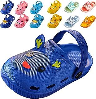 Cuidado Sabots Enfant Animal Cerf Sika Claquette Enfant Fille et Garcon Pantoufle Enfant Sandales Plastique Plage Enfant M...