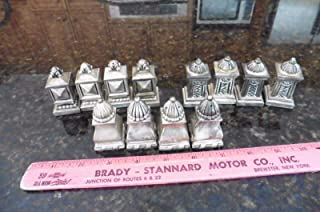 Lot of Silverplate Salt & pepper shakers Table set 12 piece party For Vintage style