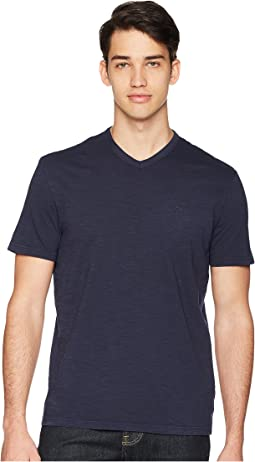 Calvin Klein Jeans Mixed Media V-Neck Tee