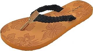 Best ladies black flip flop sandals Reviews