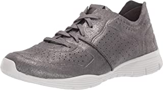 Skechers Women's Seager-Major League-Perfed Metallic Lace Up Jogger Oxford