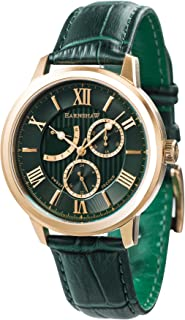 Thomas Earnshaw Men's ES-8060-02 Year-Round Analog Quartz Green Band Watch