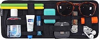 Cocoon GRID IT   Sonnenblende Organizer mit elastischen Bändern / Auto Zubehör / KFZ Organizer / Multifunktionales Organisationssystem für das Auto / Brett für Sonnenblende – Schwarz / 34,4x1,7x13,3cm