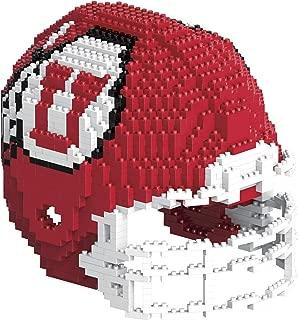 FOCO NCAA Utah Utes 3D BRXLZ Helmet3D BRXLZ Helmet, Team Color, One Size