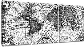 Explore framed world maps for walls