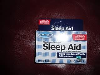 Maximum Strength SLEEP AID (Diphenhydramine HCL) 50 mg, 8 softgels