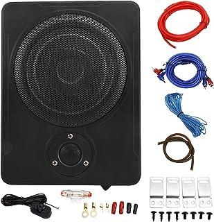"$79 » Patioer 8"" 600w Car/Truck Audio Slim Under-Seat Powered Subwoofer Sub Bass Speaker Kit"