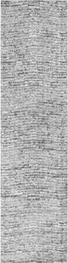 """nuLOOM Sherill Ripple Modern Abstract Runner Rug, 2' 5"""" x 9' 5"""", Gray"""