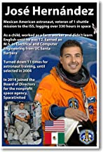 NASA Astronaut José Hernández - Mexican American in Space - NEW Poster