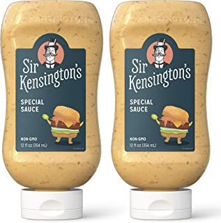 Sir Kensington's Mayonnaise, Special Sauce, Gluten Free, Non- GMO Project Verified, Certified Humane Free Range Eggs, Shel...