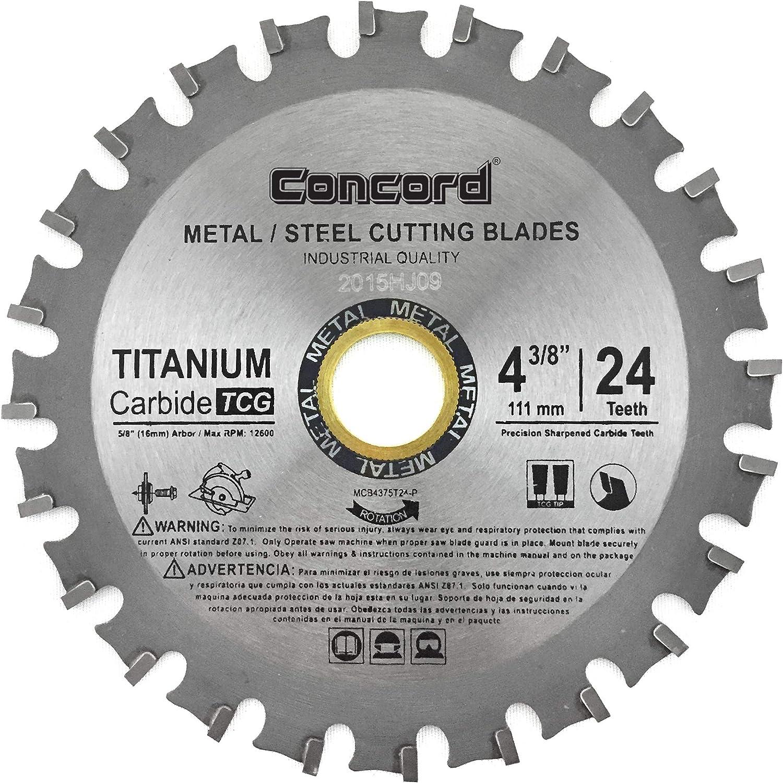 Concord Blades MCB1000T080HP 10-Inch 80 Teeth TCT Ferrous Metal Cutting Blade
