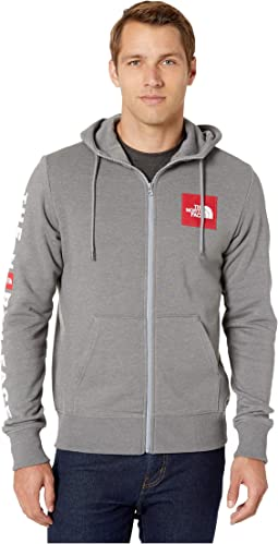 TNF Medium Grey Heather/TNF Red