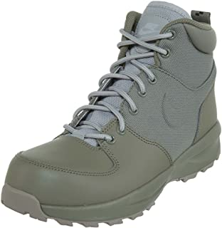 Nike Kids Manoa Boot (4.5 Big Kid, Dark Stucco/Wolf Grey)