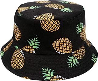 Fenside Country Clothing Girls Pineapple Print Bucket Bush Sun Hat Ideal for Summer Holidays