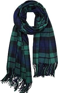 Achillea Oversized Cashmere Feel Scotland Scottish Tartan Plaid Scarf Shawl Wrap Winter Warm 80