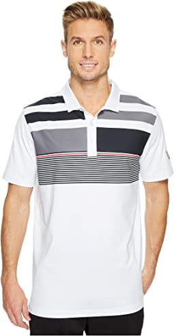 PUMA Golf - Volition Asymmetrical Road Map Polo