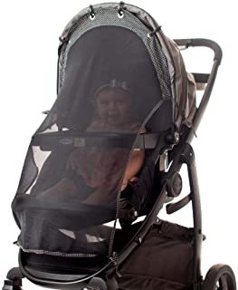 Sun Shade for Strollers (Long). Universal Adjustable SPF 30+ Sunshade with See Through. Your Baby Will See The World and W...