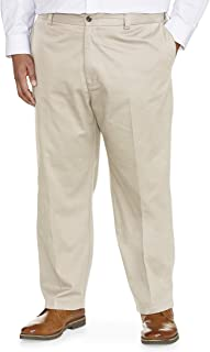 Amazon Essentials Men's Big & Tall Loose-fit Wrinkle-Resistant Flat-Front Chino Pant fit by DXL...