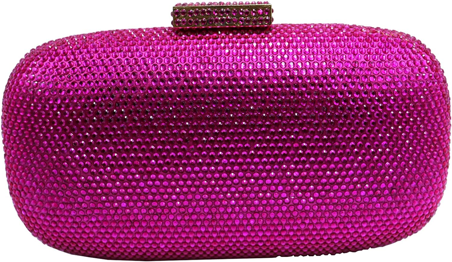 DMIX Womens Crystal Clutches and Evening Bags