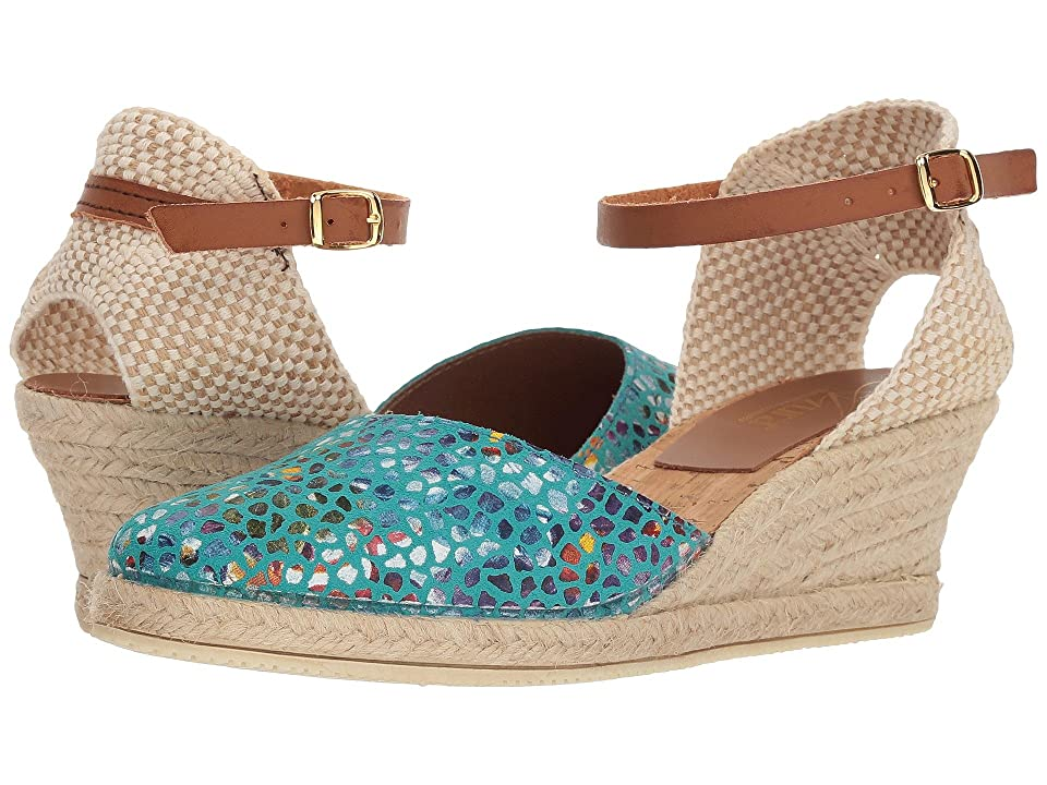 Spring Step Kaitlin (Turquoise) Women