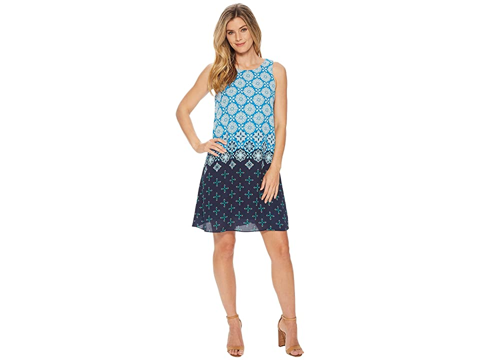 Hatley Viola Dress (Blue Compass Roses) Women