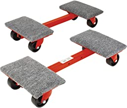 Roberts 10-575 Heavy Cargo Moving Dollies with 1,000-Pound Capacity and Ball Bearing Wheels, 2-Pack