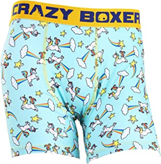 Crazy Boxers Wakey Wakey Eggs n Bacon Mens Boxer Briefs