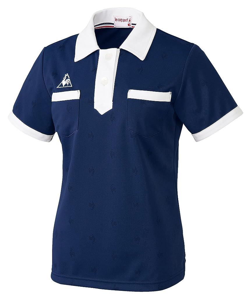 スズメバチバトルバーゲン介護ユニフォーム ニットシャツ レディス ルコック ネイビー サイズ:9 UZL8028-5