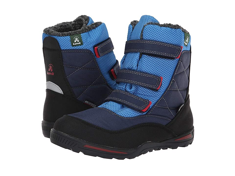 Kamik Kids Hayden (Little Kid/Big Kid) (Navy/Blue) Boys Shoes