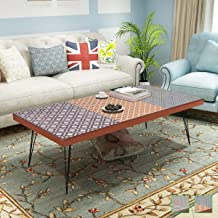 Generic Retro Room Furniture iture Legs Living Furnit Sofa Side Coffee s Living Brown Grey Retro Color:Random Coffe Table Pin