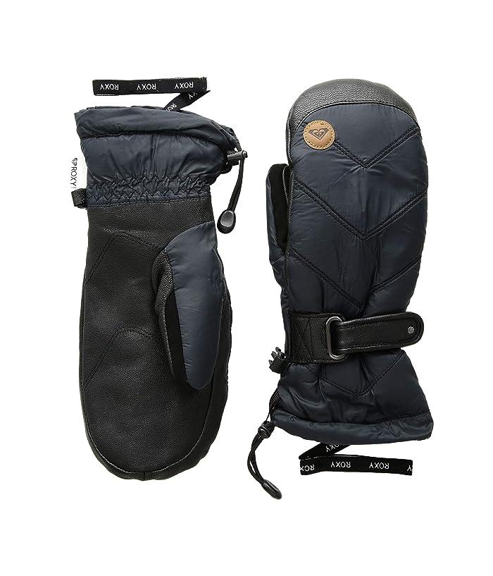 Roxy Victoria Mitt (True Black) Extreme Cold Weather Gloves