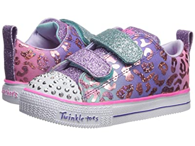 SKECHERS KIDS Twinkle Toes Shuffle Lite 20252N (Toddler/Little Kid) (Multi) Girl