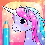 Unicorn Coloring Pages with Animation Effects