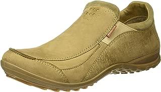 Woodland Men's OGC 3007118_Khaki_10 Leather Loafers-10 UK (44 EU) (11 US) 3007118KHAKI
