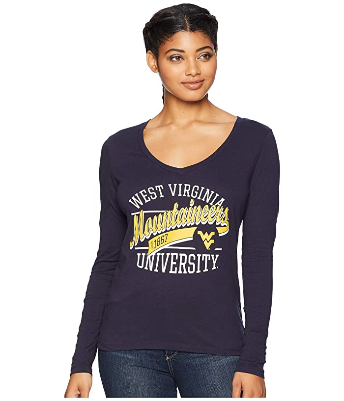 b456febd4357 Champion College West Virginia Mountaineers Long Sleeve V-Neck Tee | 6pm