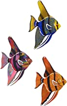 product image for Next Innovations Metal Wall Art - Tetra Fish 3 Piece Set, Small