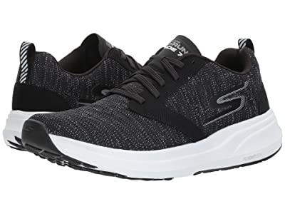 SKECHERS GOrun Ride 7 (Black/White) Men
