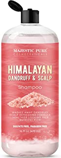 Sponsored Ad - Majestic Pure Himalayan Sulfate Free Dandruff and Itchy Dry Scalp Shampoo, 16 fl. oz. -  Washes Away Dandru...