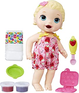 Baby Alive Super Snacks Snackin  Lily (Blonde) (Amazon Exclusive) 3a080b26a3