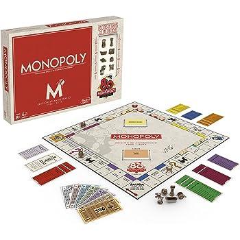 Hasbro Gaming (B0622105) - Monopoly 80 Aniversario, Juego de Mesa ...