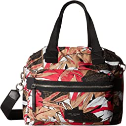 Palm Printed Biker Babybag