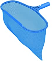PoolSupplyTown Leaf Rake Skimmer Net with Deep Pocket for Removing Inground and Above Ground Pool and Spa Leaves & Debris