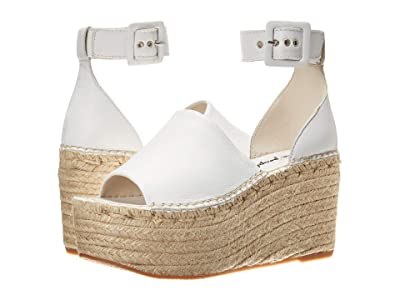 Free People Coastal Platform Wedge (White) Women