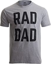 RAD DAD | Funny Cool Dad Joke Humor, Daddy Father's Day Grandpa Fathers T-Shirt