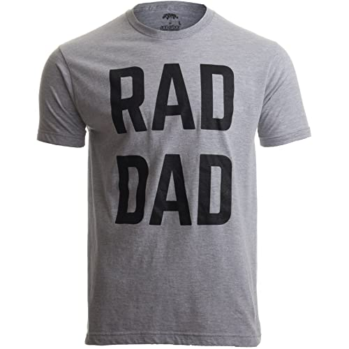 4f2ba014 RAD DAD   Funny Cool Dad Joke Humor, Daddy Father's Day Grandpa Fathers T-