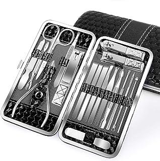 Nail Clippers Set 18PCS Manicure Set Manicure & Pedicure Tools Professional Nails Includes Scissor Tweezer Knife Ear Pick ...