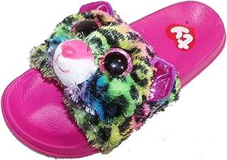 Ty Beanie Boo Beanie Boo Flip Flop For Girls Dotty Leopard Slider Shoe Slip On