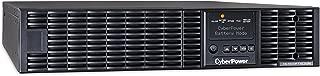 CyberPower OL1500RTXL2UN Smart App Online UPS System, 1500VA/1350W, 8 Outlets, 2U Rack/Tower + Pre-Installed SNMP Card